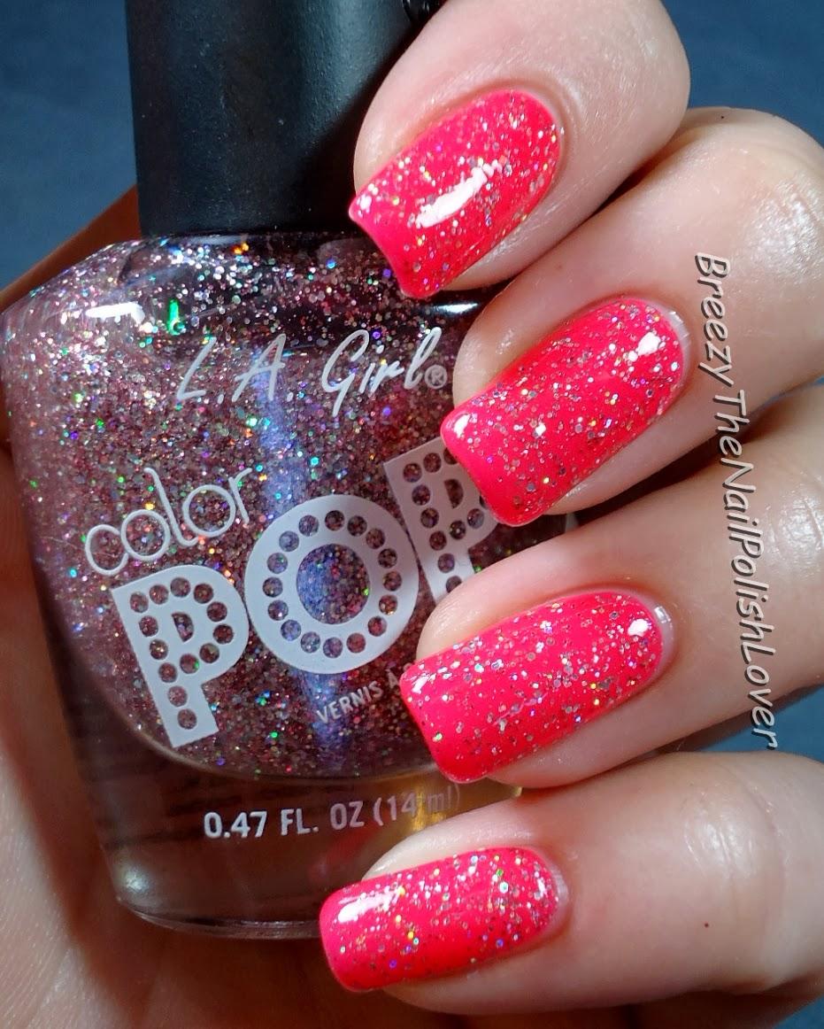 Breezythenailpolishlover L A Girl Color Pop Color Clash Swatches