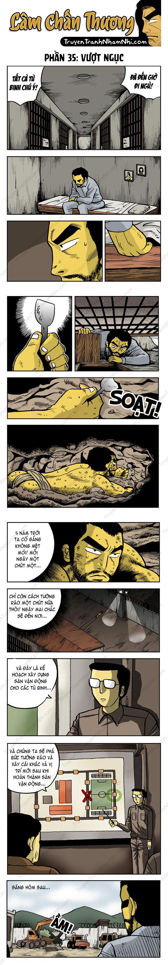 Lâm Chấn Thương phần 35: Vượt ngục