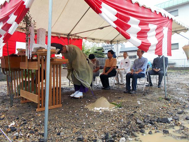 老後を夫婦二人で楽しむ住まいの地鎮祭
