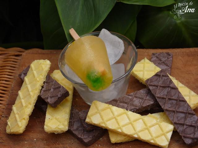 7 recetas de paletas de hielo