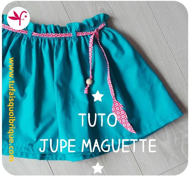 Tuto Jupe Maguette