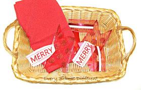 Christmas ribbon matching