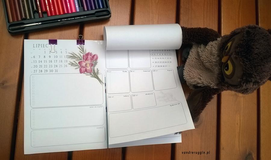 Podstawa dobrego planowania - kalendarz DIY