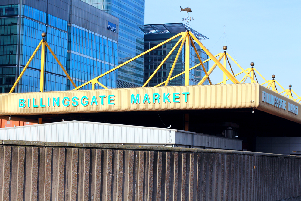 Billingsgate Fish Market - London foodie blog