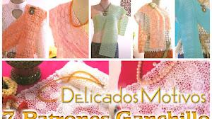 Chalinas y caminos de mesa con delicados diseños / Patrones Crochet