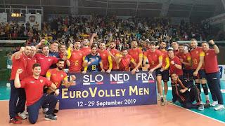 VOLEIBOL - La selección española masculina también pondrá rumbo al Europeo 2019