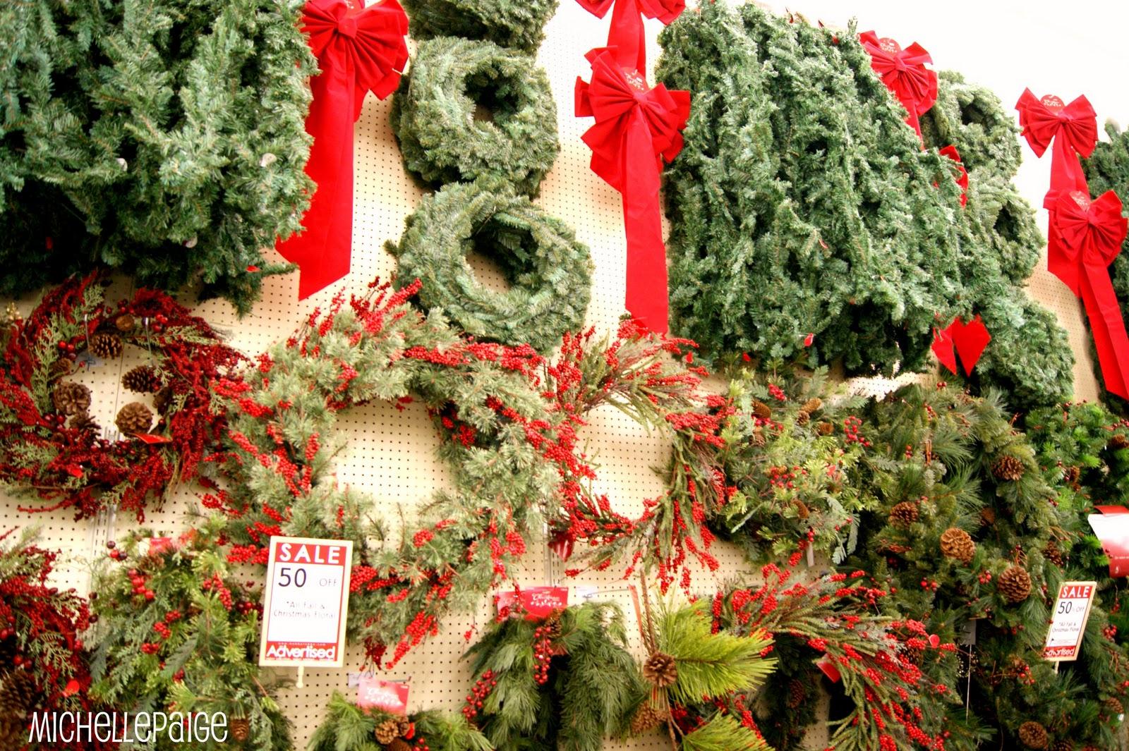 monday november 28 2011 - Hobby Lobby Christmas Garland