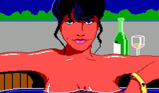 Pantallazo Leisure Suit Larry 1987