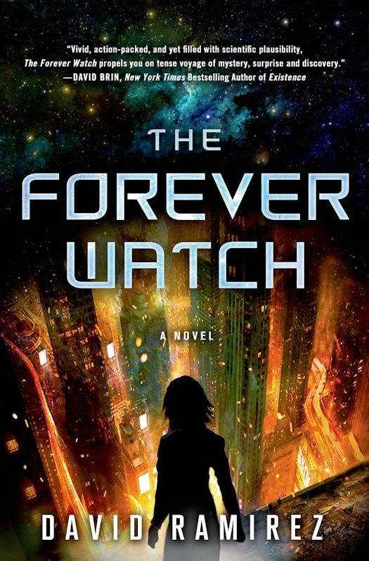 2014 Debut Author Challenge Update -  The Forever Watch by David Ramirez
