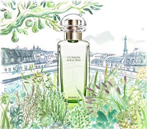 perfume shrine hermes un jardin sur le toit fragrance review. Black Bedroom Furniture Sets. Home Design Ideas