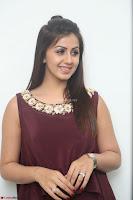 Nikki Galrani in a Brown Shining Sleeveless Gown at Nakshatram music launch ~  Exclusive 054.JPG