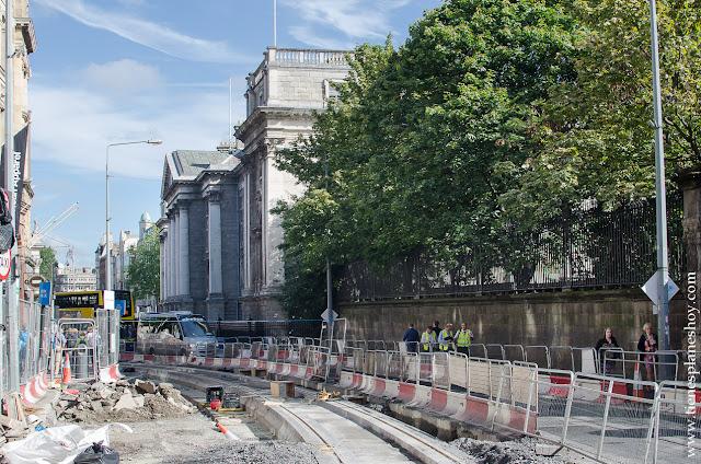 Calles Dublin Irlanda