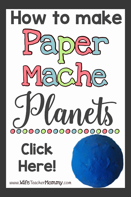 Paper Mache Planets Pinterest