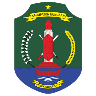 Logo Kabupaten Nunukan Vektor CorelDraw