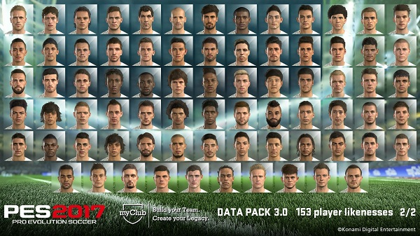 PES 2017 Facepack Data Pack 3.0 by gilapesku