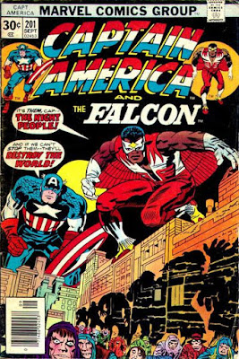 Captain America and the Falcon #201