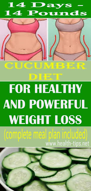 Cucumber Diet For Weight Loss: Lose 15 Pounds In 14 Days!#NATURALREMEDIES