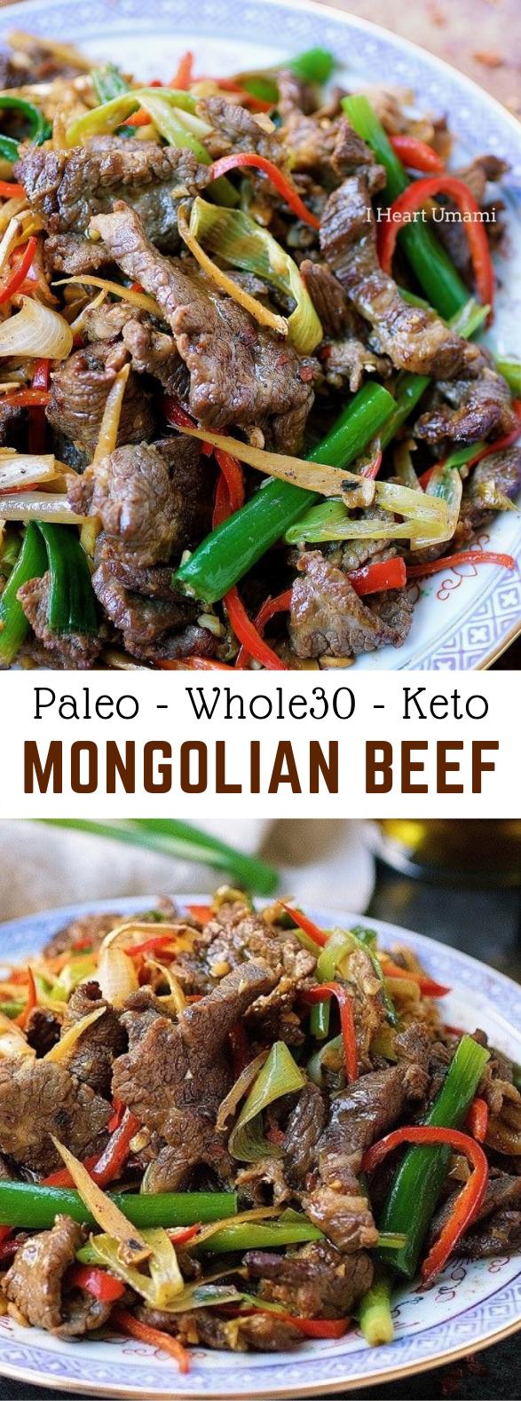 Paleo Mongolian Beef #Paleo #Keto