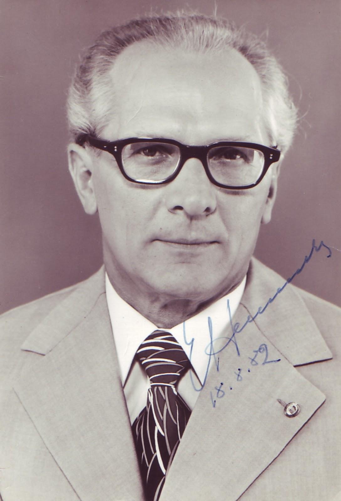 Günter Herrmann Honecker