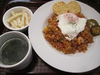 Cafe & Bar Carbs Lunch Menu Mexican Jambalaya ランチメニュー メキシカン ジャンバラヤ カフェ&バルキャブス 十和田市 Towada City
