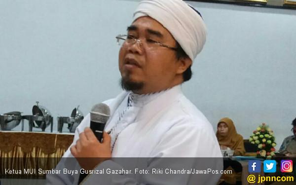 Ketua MUI Sumbar Keluarkan Pernyataan Tegas soal Kunjungan Ma'ruf Amin