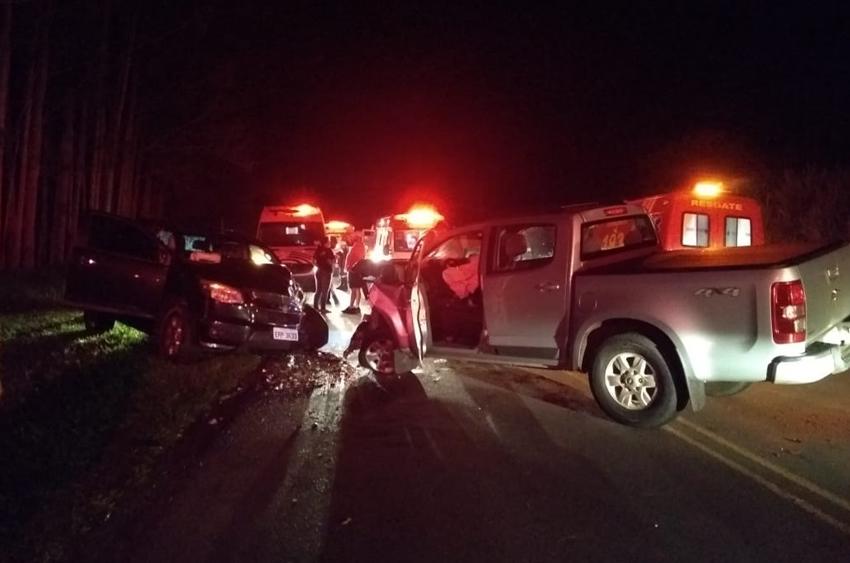 Acidente em rodovia entre Cajobi e Embaúba deixa seis pessoas feridas