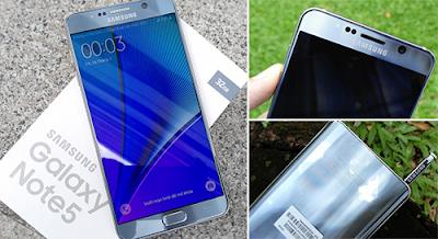 Phiên bản Samsung galaxy Note 5 Silver chính hãng