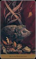 Tarot of the Hidden Realm Julia Jeffrey Ace of Pentacles