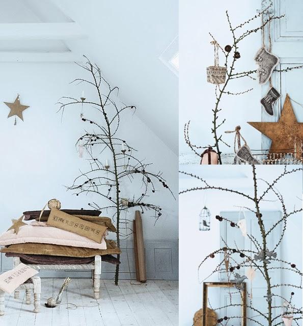 Maiko Nagao: DIY: Simple And Chic Branch Christmas Tree