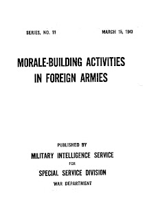 Morale-Building Activities in Foreign Armies
