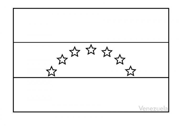 Bandera De Venezuela Para Colorear Actualizada Imagui