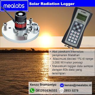 Perekam Data (Data Logger) Intensitas Cahaya Matahari (Solar Radiation)