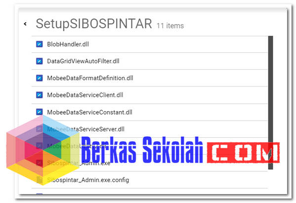 Aplikasi SIBOS PINTAR Terbaru