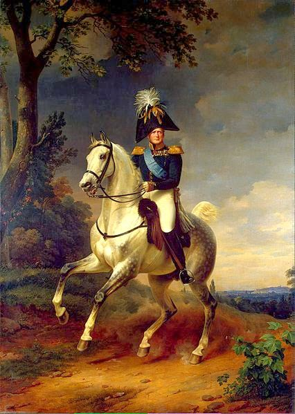 Alexander I of Russia by Franz Krüger