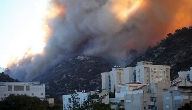 Israel Dilanda Kebakaran Hebat, Ini Dia Beragam Komentar Dari Para Netizen