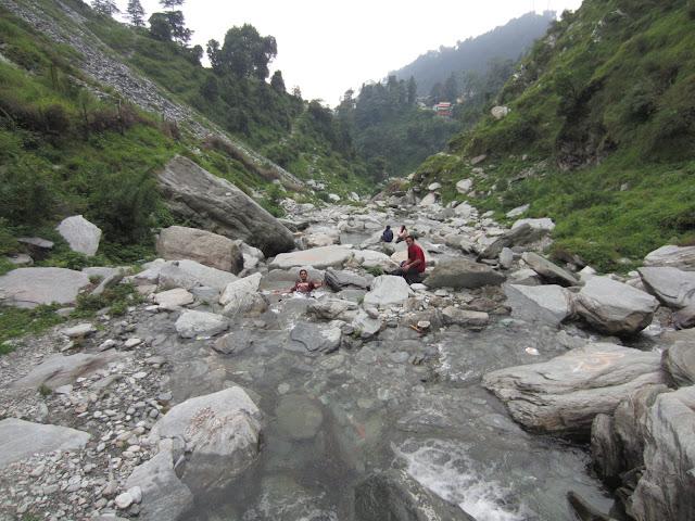view from bhagsu