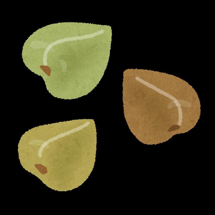 「蕎麦の実 イラスト」の画像検索結果