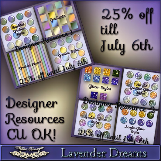 Lavender Dreams Collection Designer Resources