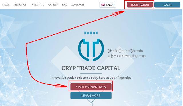 Panduan Cara daftar di Cryp Trade bagian 1