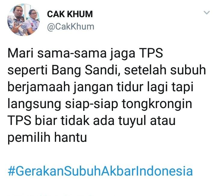 Cegah TPS dari Pemilih Tuyul dan Hantu, Masyarakat Lakukan Gerakan Ini