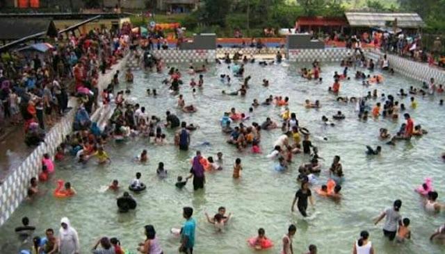 Wisata Cibolang Hotspring Water Pangalengan