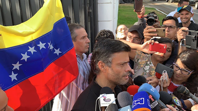 Leopoldo López revela reuniones en su casa con militares de alto rango días antes del 30-A