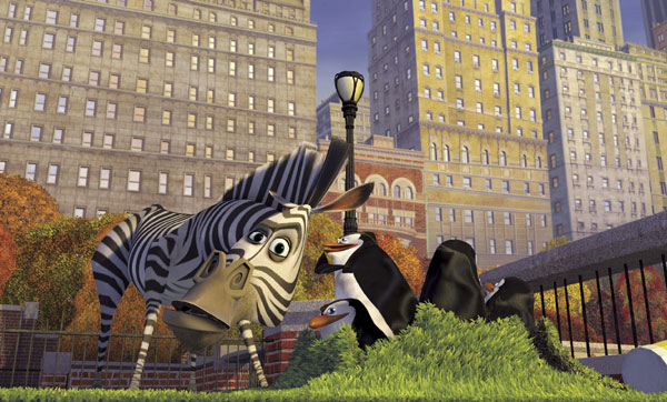 The animals in Central Park in Madagascar animatedfilmreviews.filminspector.com