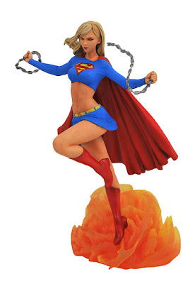 Diamond Select DC COMIC GALLERY SUPERGIRL COMIC PVC DIORAMA 001