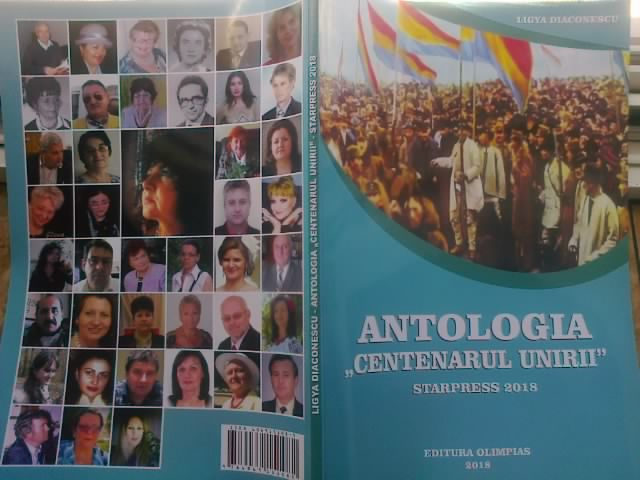 Imagini pentru antologia centenarul unirii starpress 2018