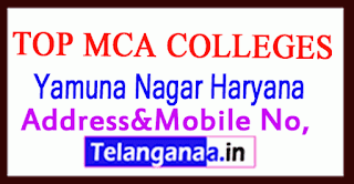 Top MCA Colleges in Yamuna Nagar Haryana