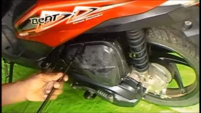 cara membersihkan filter udara honda revo