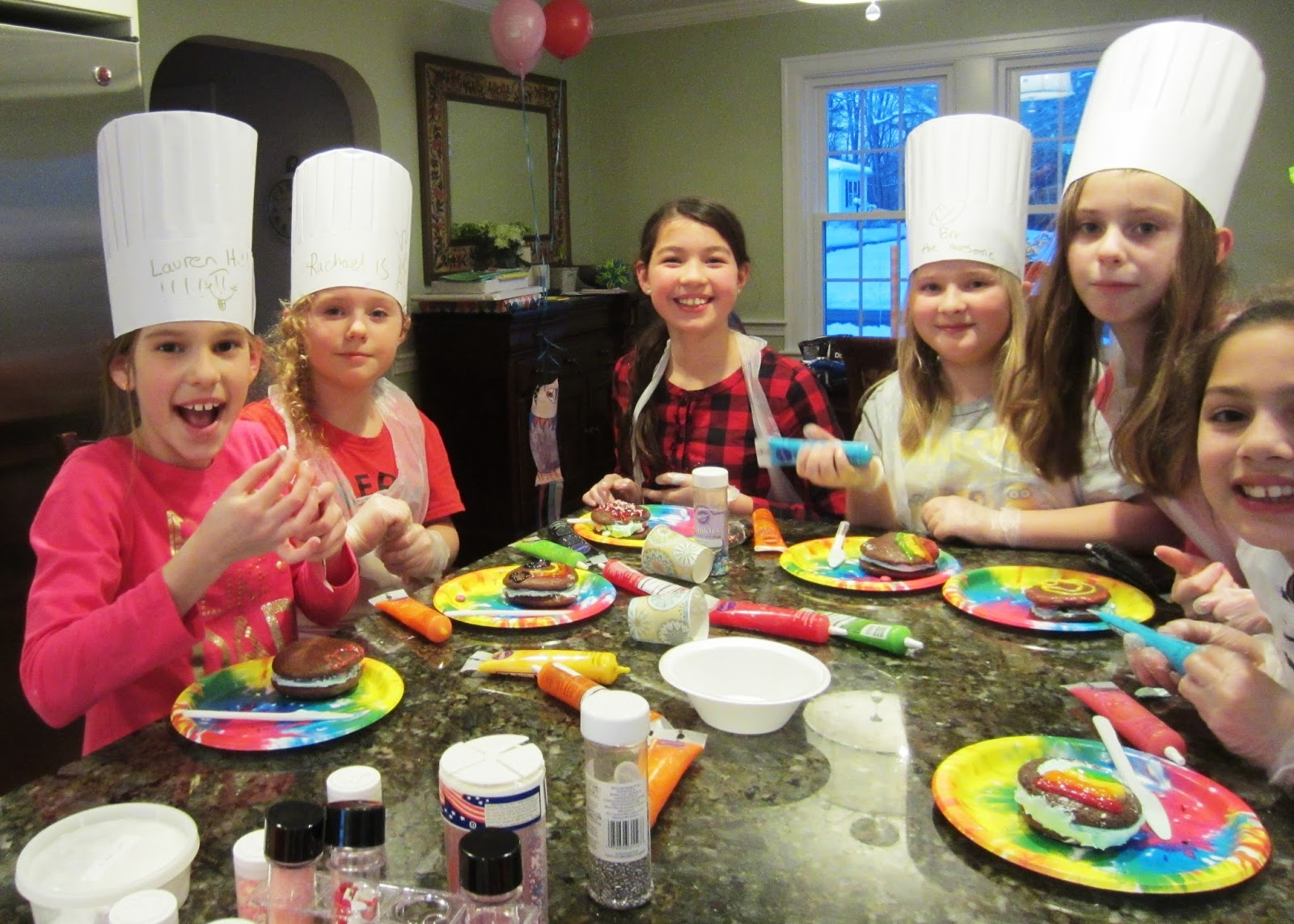 Lets Get Cooking with Ellie Deaner Kids cooking birthday party