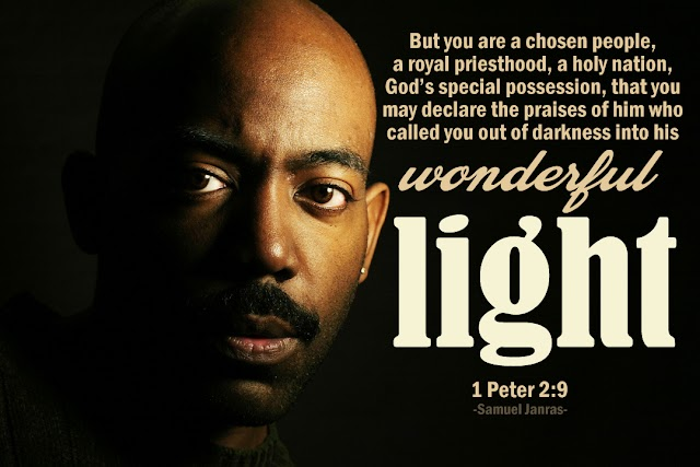Wonderful Light Bible Quote