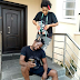 These photos of Klint Da Drunk's wife cutting his hair will crack your ribs